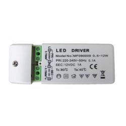 LED Trafo 0,5-12Watt (230 V / 12 V)