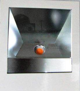 Einbau-Wallwasher LED  Fleischlicht