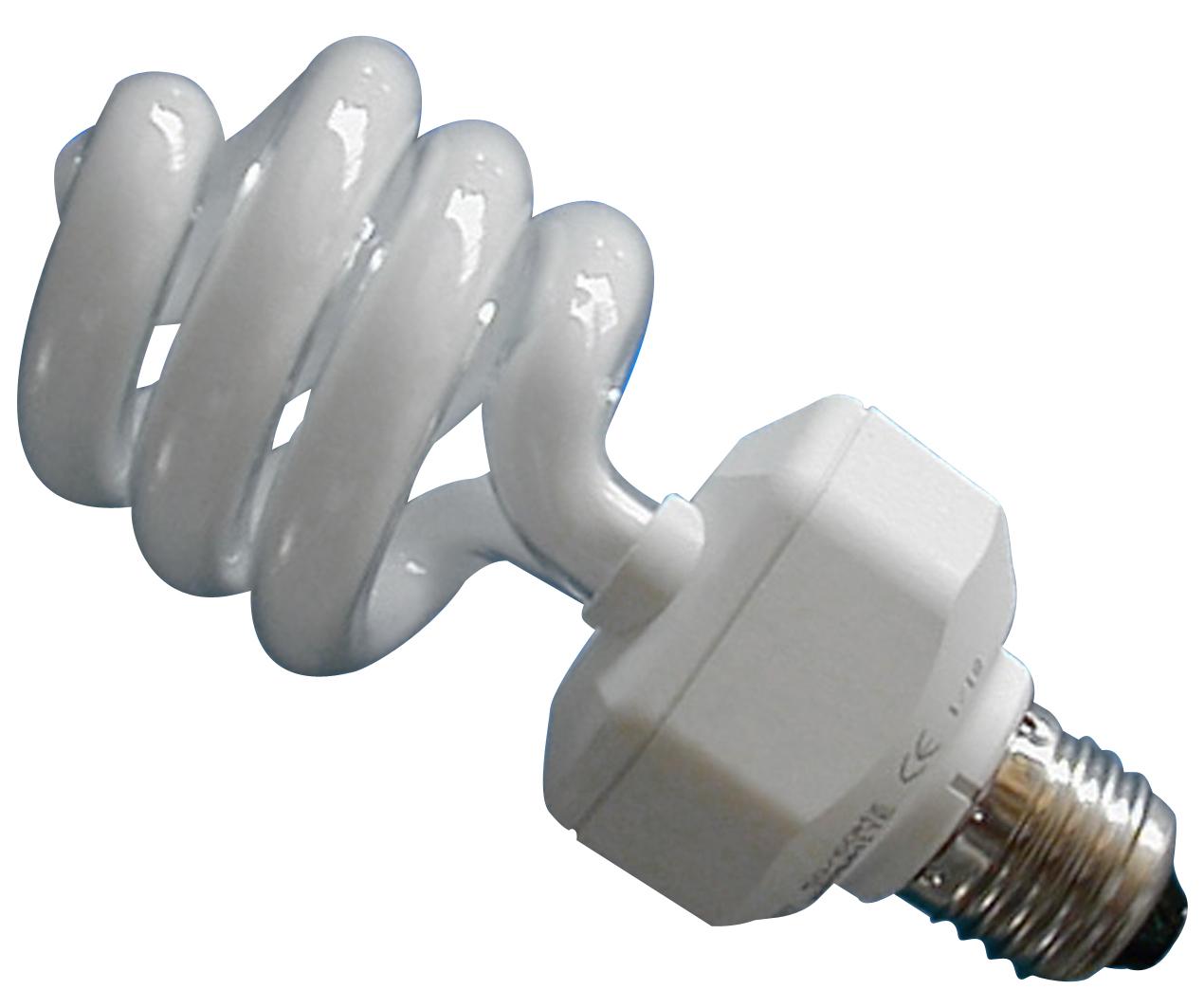 Energiesparlampe E 27 (9 Watt, 230 Volt) Tageslicht-Vollspektrum  RA 94