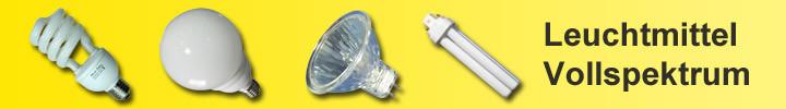Leuchtmittel Vollspektrum
